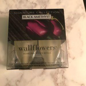 Black Amethyst Wallflower Refills 2 Pack